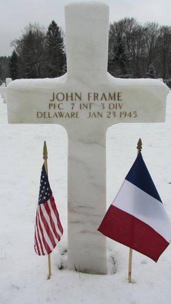 PFC John Frame