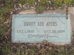 Emory Lee Ayers