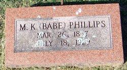 Babe M. K. Fice McKane Phillips
