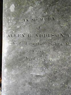 Capt Allen Bartlett Addison
