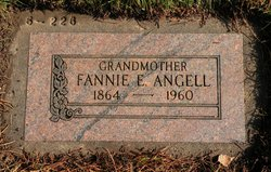Frances Ellen Fannie <i>Martin</i> Angell