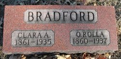 Clara A <i>Yost</i> Bradford