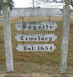 Boyette Family Cemetery (Old Route 22)