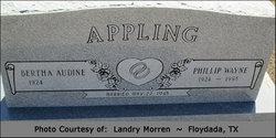 Phillip Wayne Appling