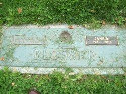 Jane <i>Rodgers</i> Blosser