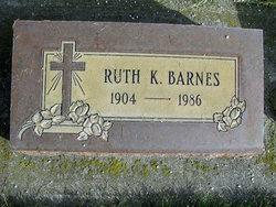 Ruth K <i>Imhoff</i> Barnes