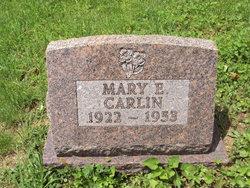 Mary Elizabeth <i>Fetty Sidwell</i> Carlin