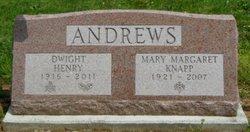 Mary Margaret <i>Knapp</i> Andrews