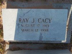 Raymond Jake Ray Cacy