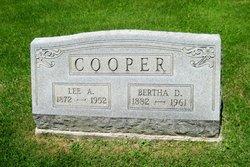 Bertha D <i>Fite</i> Cooper