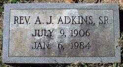 Rev A. J. Adkins, Sr