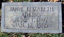 Janie Elizabeth Adkins