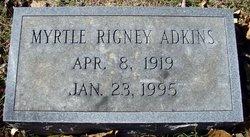 Myrtle <i>Rigney</i> Adkins