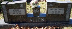 Christine <i>Graves</i> Allen