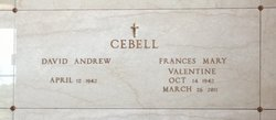 Frances Mary <i>Valentine</i> Cebell