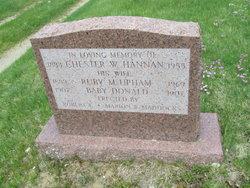 Chester W Hannan