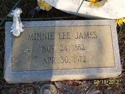 Minnie Lee Aunt Minn <i>Williams</i> Justice James