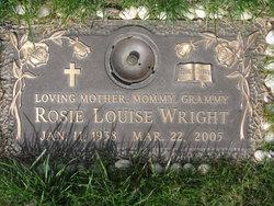 Rosie Louise <i>Harris</i> Wright