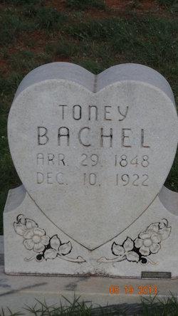 Anthony Toney Bachel