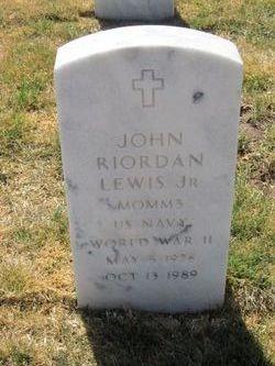 John Riordan Lewis, JR