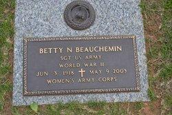 Betty N. <i>Varner</i> Beauchemin