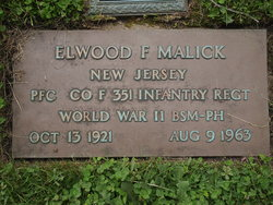 Elwood F Malick