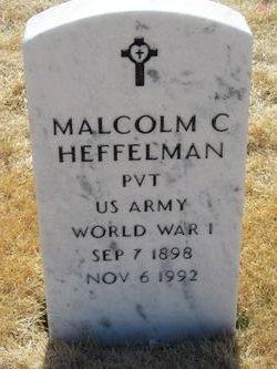 Malcolm Clay Heffelman