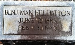 Benjiman Hill Hatton