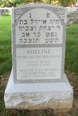 Adeline <i>Zwirn</i> Hellesvig