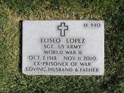Sgt Eliseo Cheo Lopez