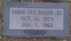 Annie Lee <i>Pleasant</i> McKenney