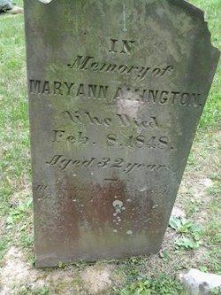 Mary Ann Allington