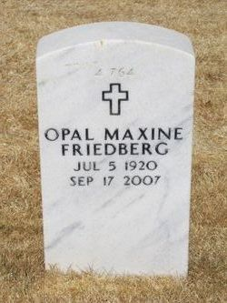 Opal Maxine <i>Gunderson</i> Friedberg