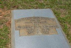 Ernest Cadesman Goodwyn