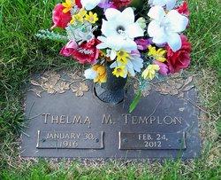 Thelma Mae <i>Printz</i> Templon