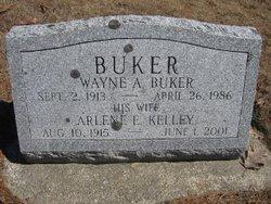 Mrs Arlene E <i>Kelley</i> Buker