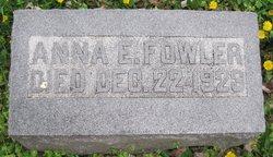 Anna E. Fowler