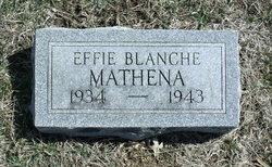 Effie Blanche Mathena