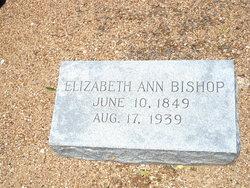 Elizabeth Ann Betty <i>Jones</i> Bishop