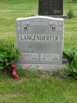 Mabel Mae <i>Knight</i> Langenderfer