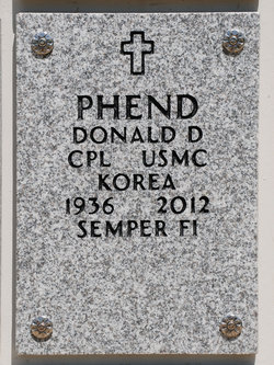 Donald Dean Phend