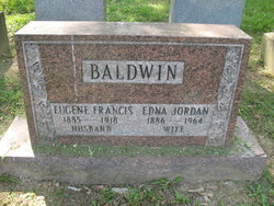 Edna May <i>Jordan</i> Baldwin