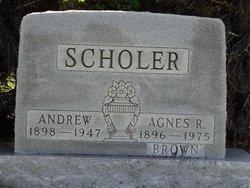 Agnes R. <i>Brown</i> Scholer