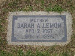 Sarah Allen <i>Mann</i> Lemon