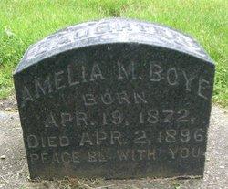 Amelia M. Boye