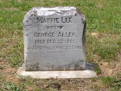 Mattie Lee <i>Stevens</i> Allen