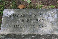 Elizabeth Patrick <i>McGowan</i> Allen