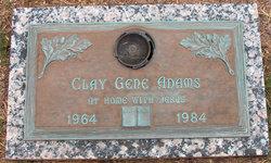 Clay Gene Adams