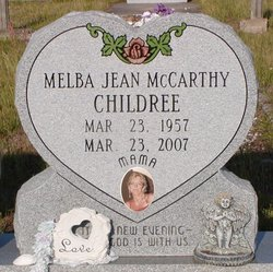Melba Jean <i>McCarthy</i> Childree