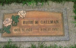 Ruth Margaret <i>Henderson</i> Gallman
